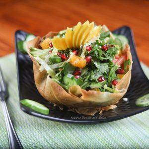 AL Jalboot Salad - Aljalboot Restaurant in Dubai