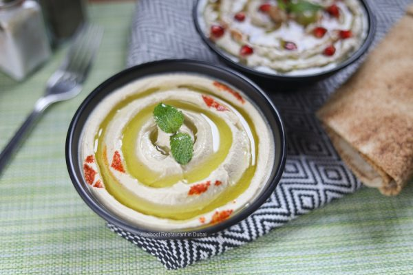 Hummus - Aljalboot Restaurant in Dubai